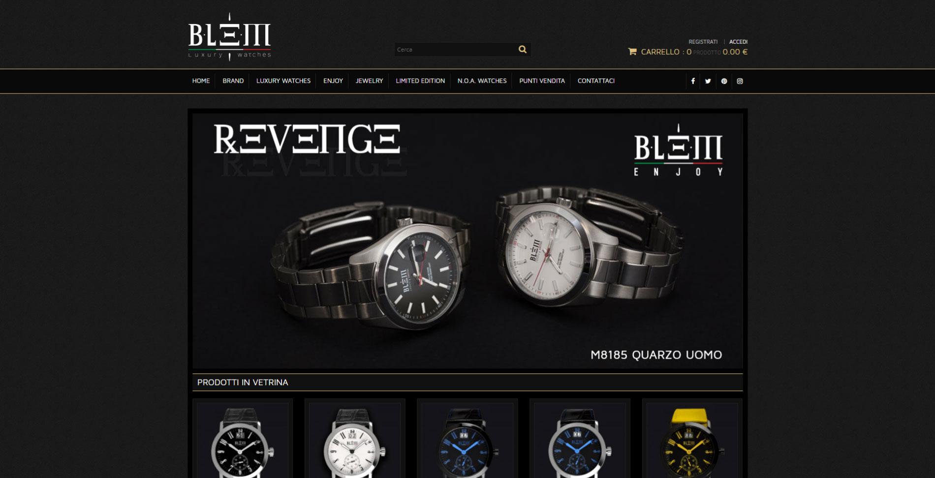 Siti web portfolio adpsoftware for Trombetta arredamenti
